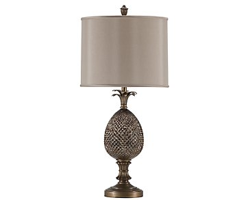 Pineapple Bronze Table Lamp