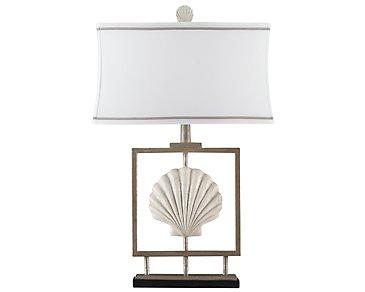 Seashell White Table Lamp