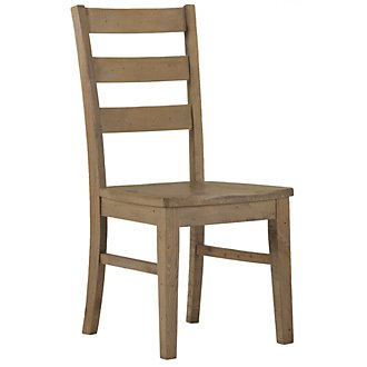 Jaden Light Tone Wood Side Chair