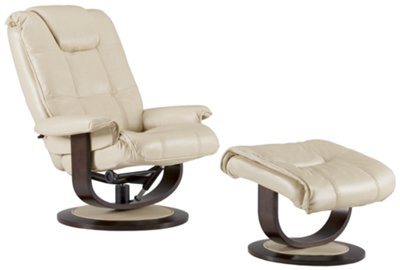 Regan Beige Microfiber Recliner u0026 Ottoman  sc 1 st  City Furniture & City Furniture: Regan Beige Microfiber Recliner u0026 Ottoman islam-shia.org