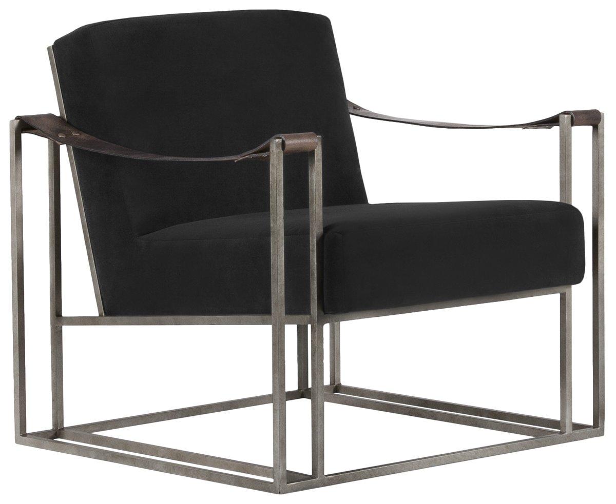 City Furniture Dekker Black Fabric Accent Chair