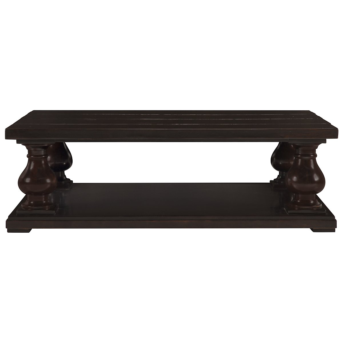 Freeport Dark Tone Rectangular Coffee Table
