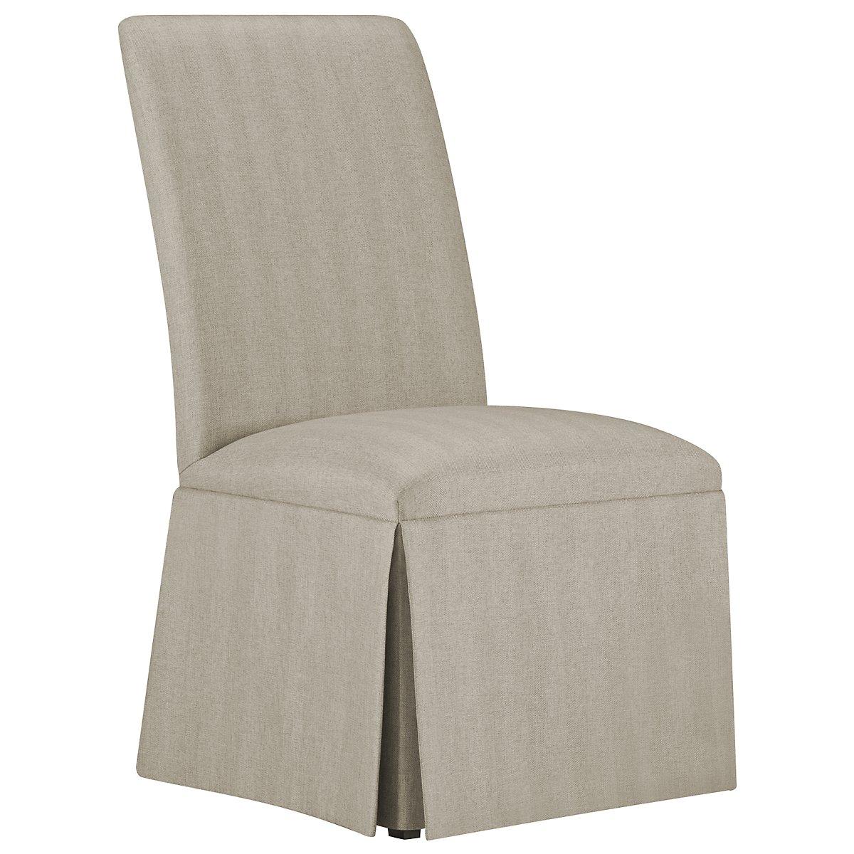 Barnsley Light Taupe Upholstered Upholstered Side Chair