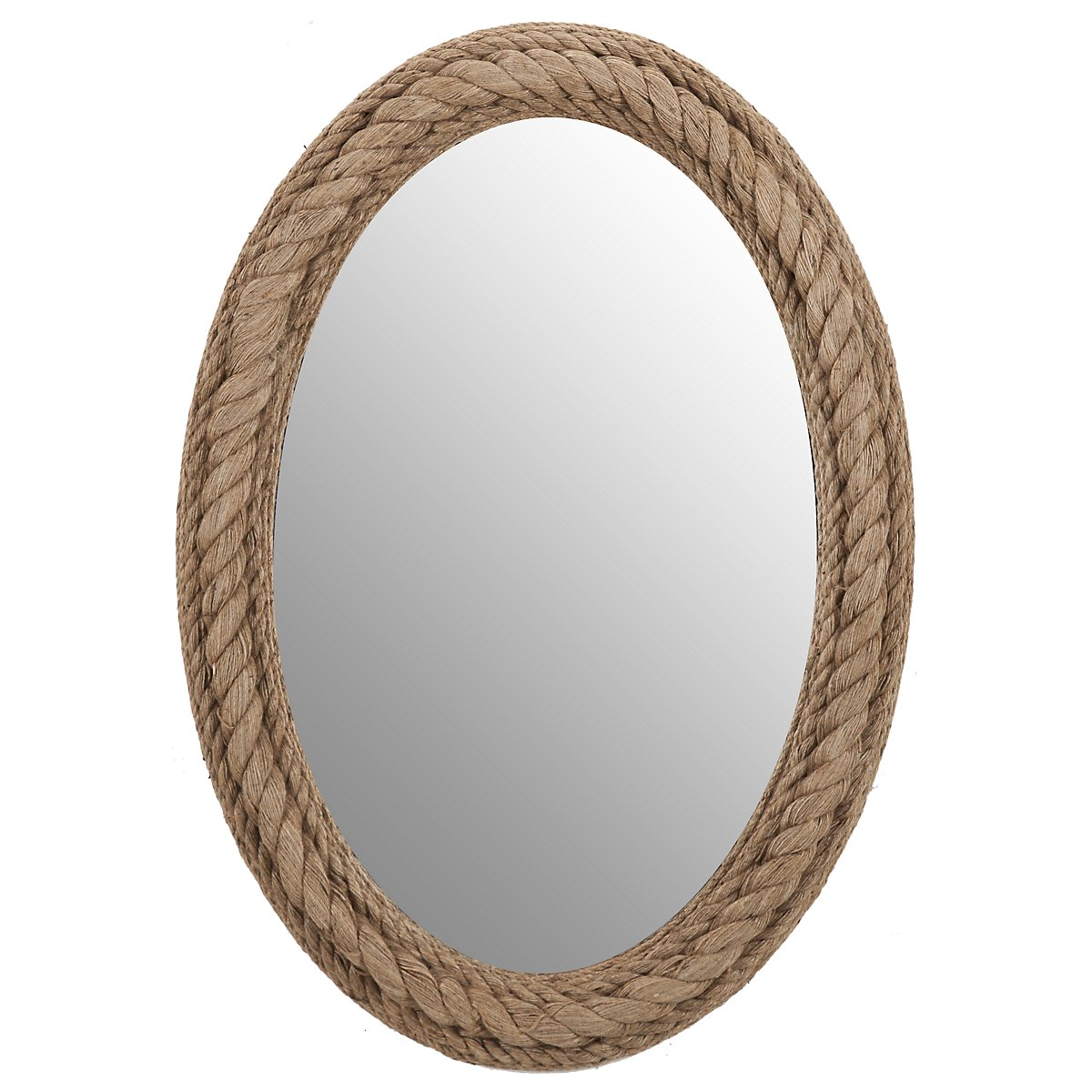 Well-known City Furniture: Rope Oval Mirror PA45