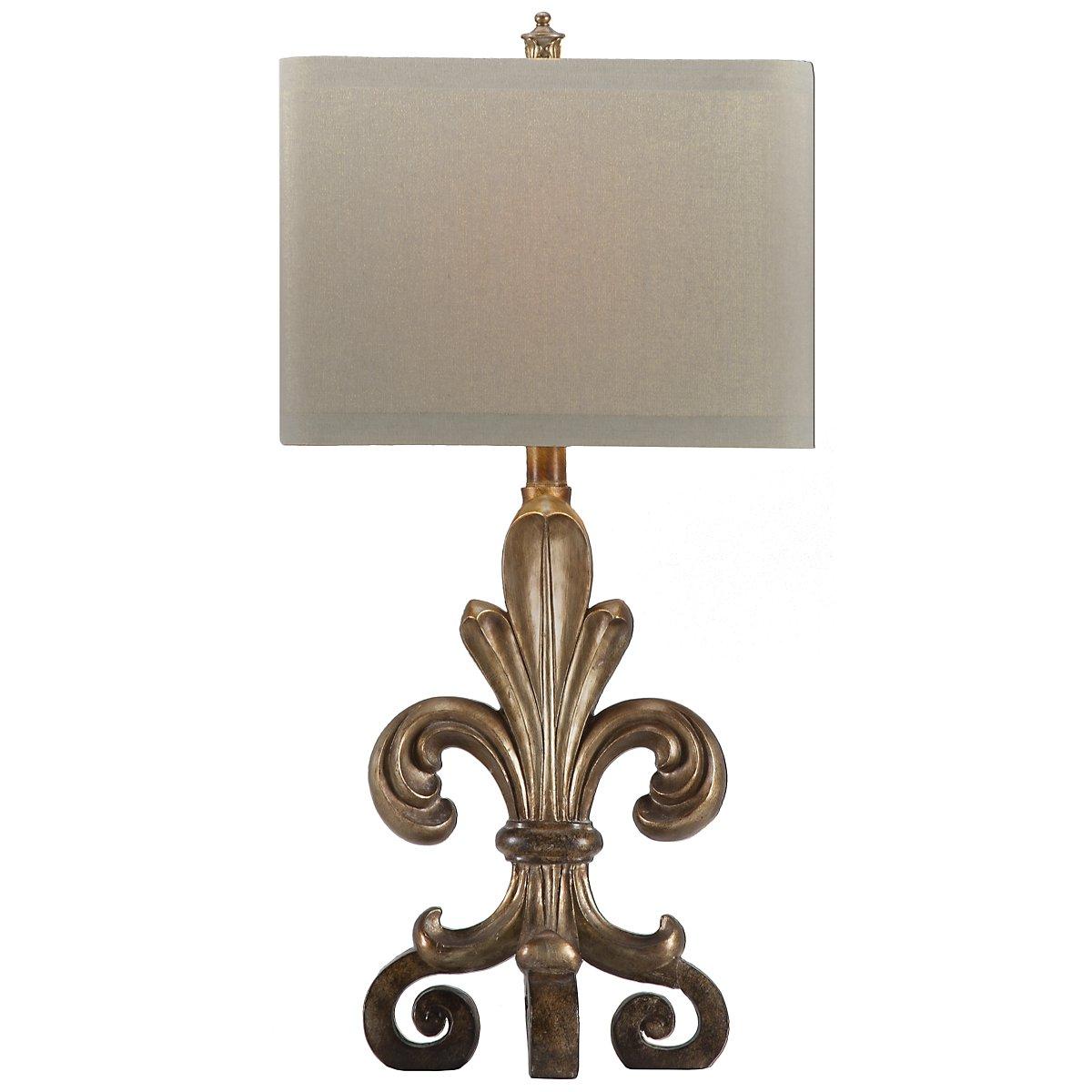 Orleans Light Gold Table Lamp