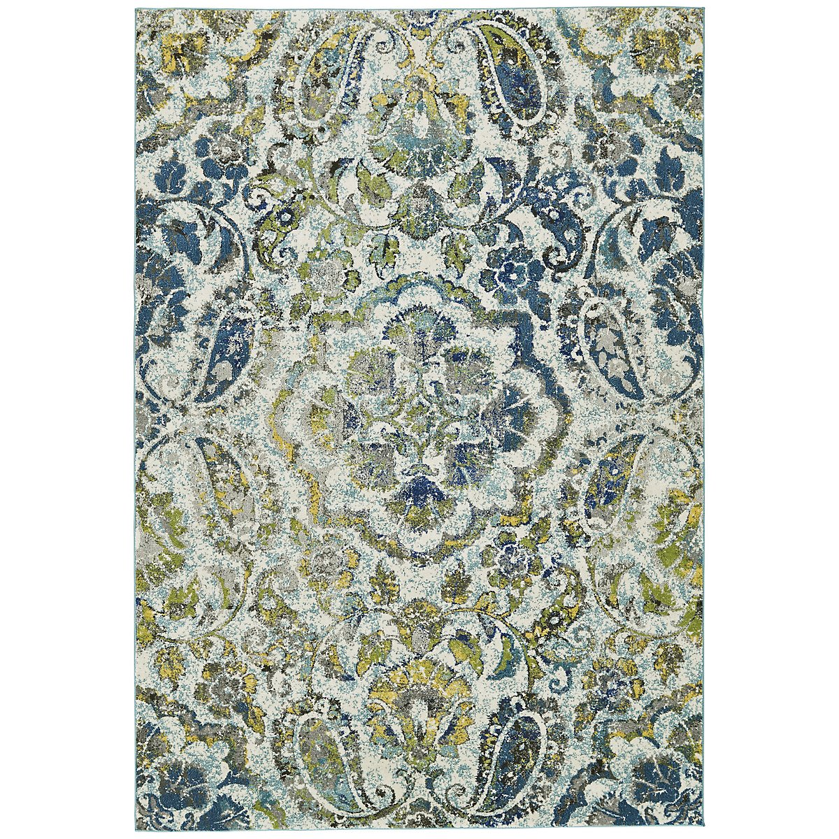 Brixton Multicolored 5x8 Area Rug