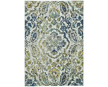 Brixton Multicolored 8X11 Area Rug