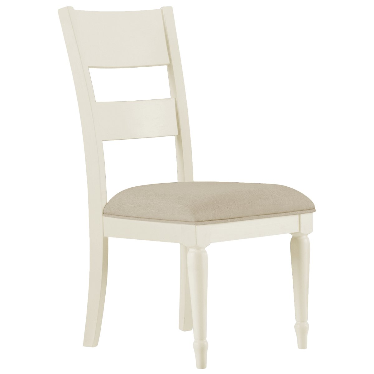Harbor View White Wood Side Chair