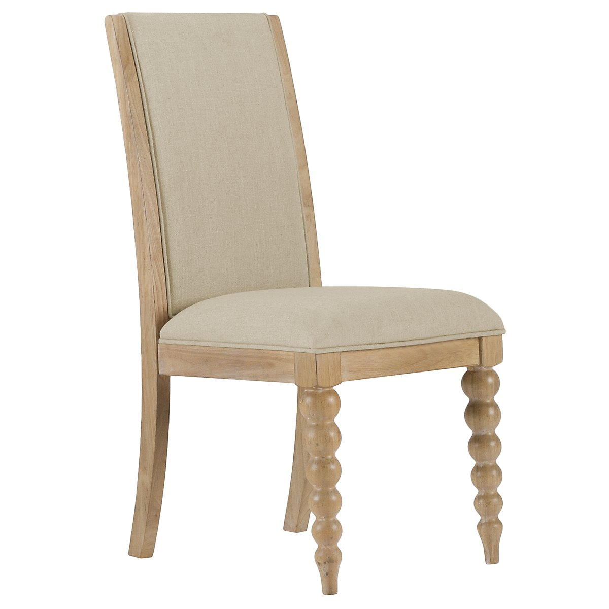 Harbor View Light Tone Upholstered Side Chair