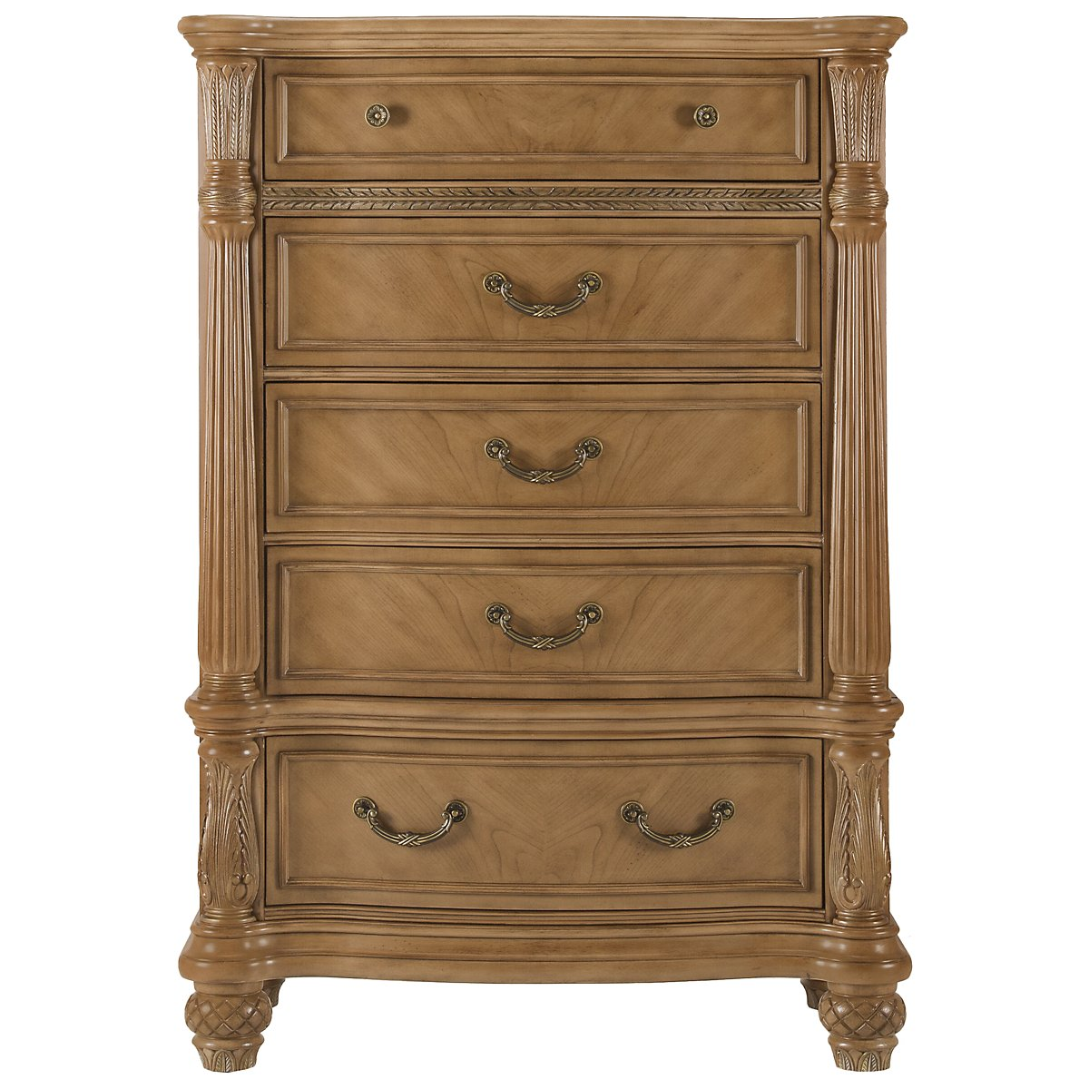 Tradewinds Light Tone Drawer Chest