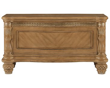 Tradewinds Light Tone Blanket Chest