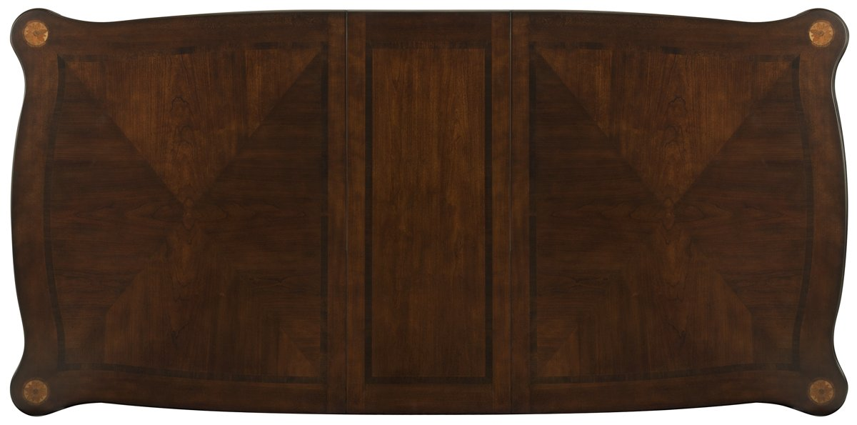 Tradewinds Dark Tone Wood Rectangular Table