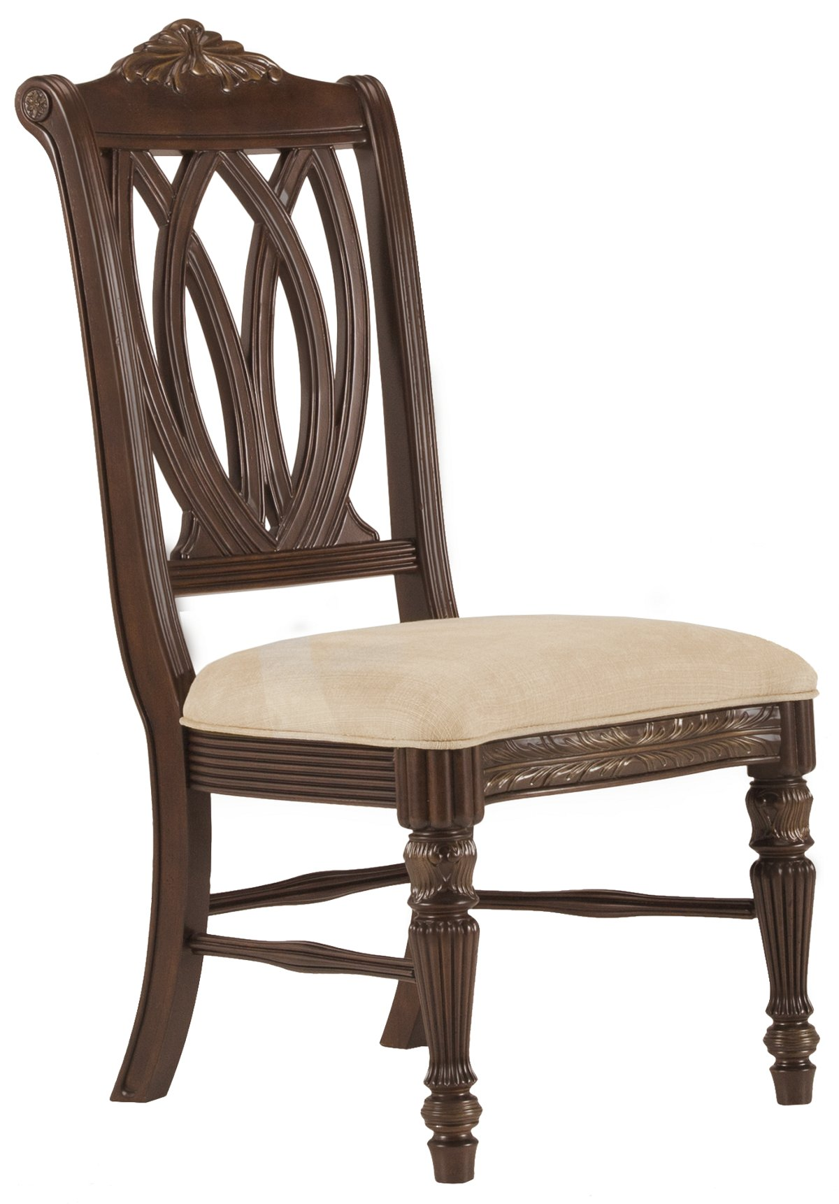 Tradewinds Dark Tone Wood Side Chair