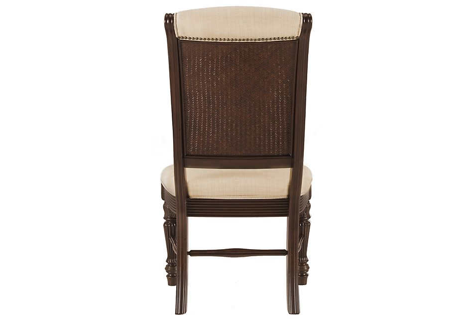 Tradewinds Dark Tone Upholstered Side Chair