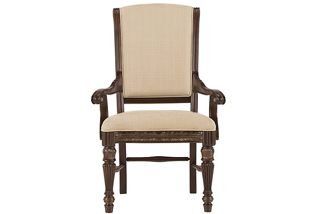 Tradewinds Dark Tone Upholstered Arm Chair