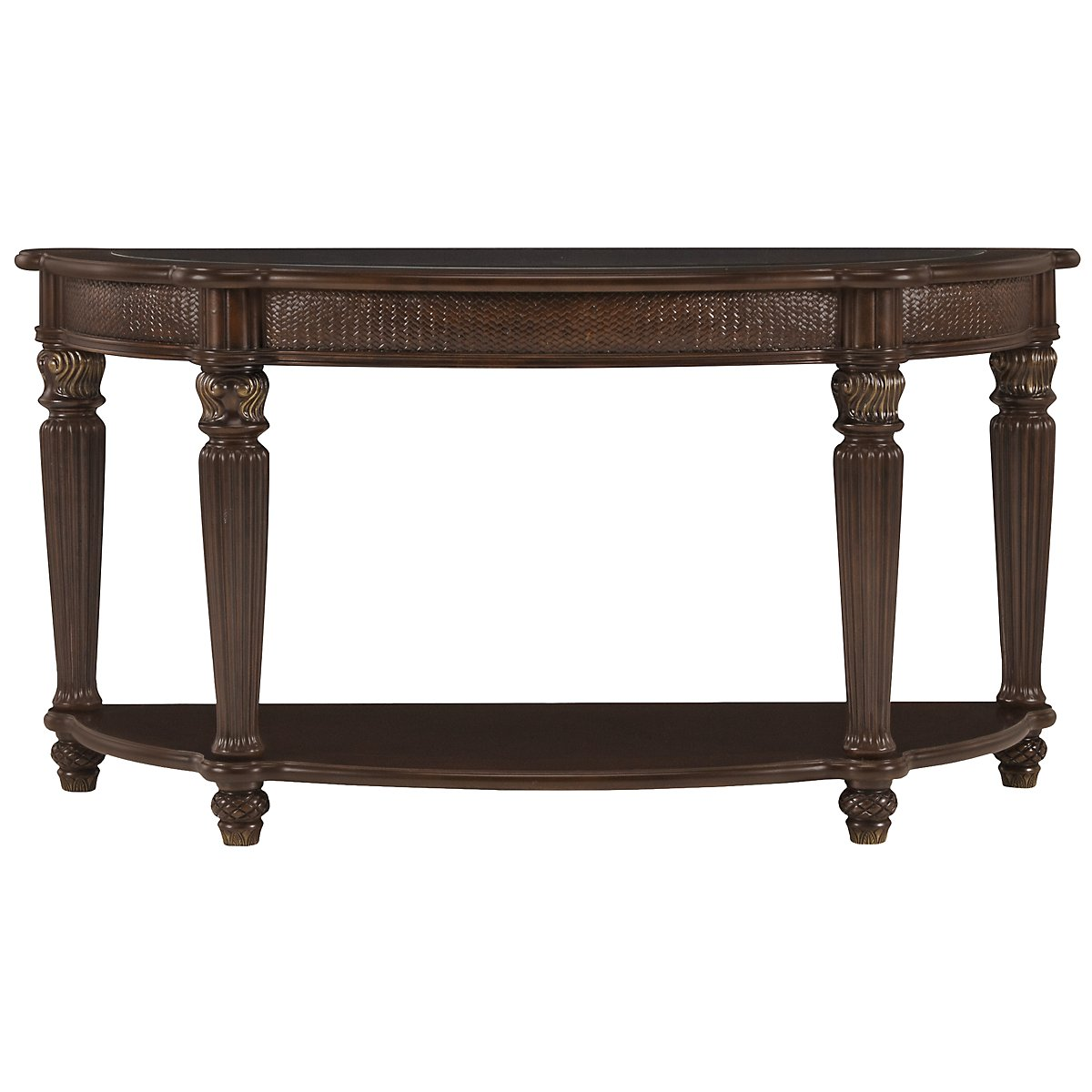 Tradewinds Dark Tone Metal Sofa Table