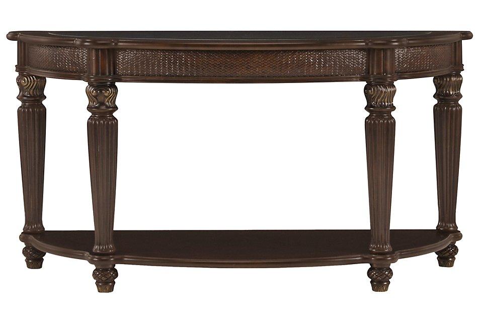 Tradewinds Dark Tone Metal Sofa Table