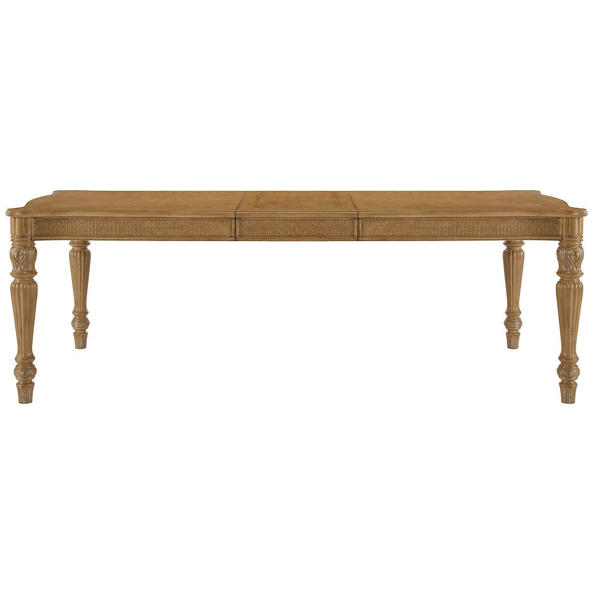 Tradewinds Light Tone Rectangular Table