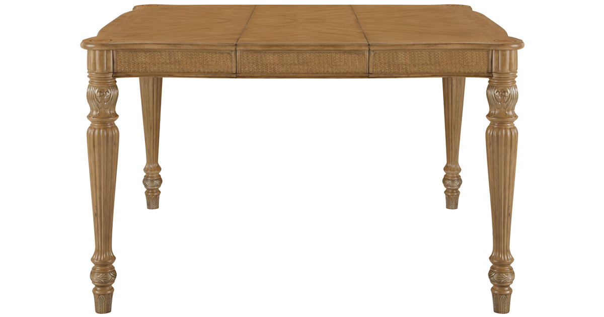 City Furniture Tradewinds Light Tone Square High Dining Table