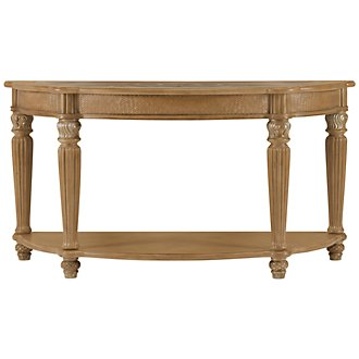 Tradewinds Light Tone Metal Sofa Table