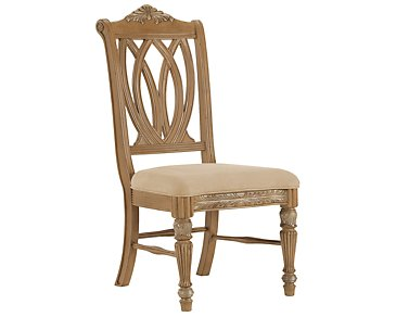 Tradewinds2 Light Tone Wood Side Chair
