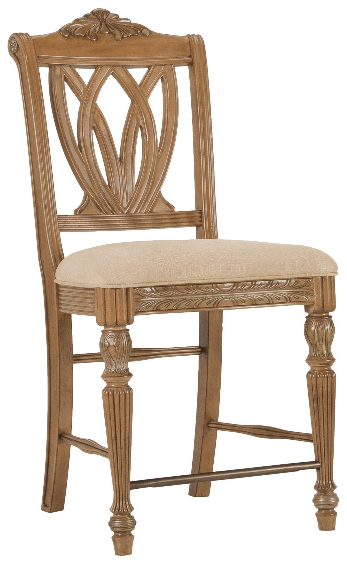 "City Furniture Tradewinds2 Light Tone 24"" Wood Barstool"