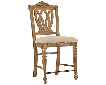 "Tradewinds2 Light Tone 24"" Wood Barstool"