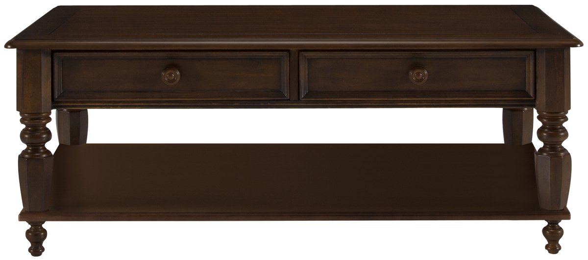 city furniture: claire dark tone wood rectangular coffee table