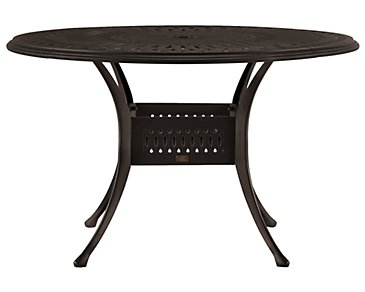"Primera Dark Tone 48"" Round Table"