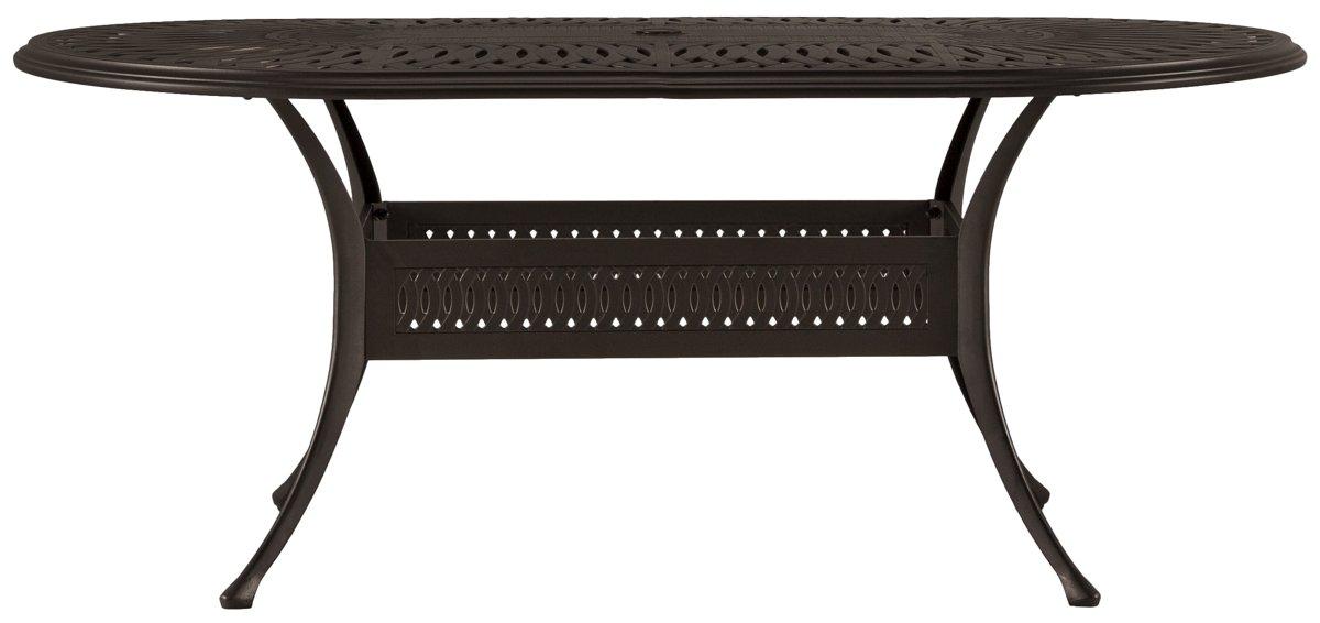 Primera Dark Tone Oval Table