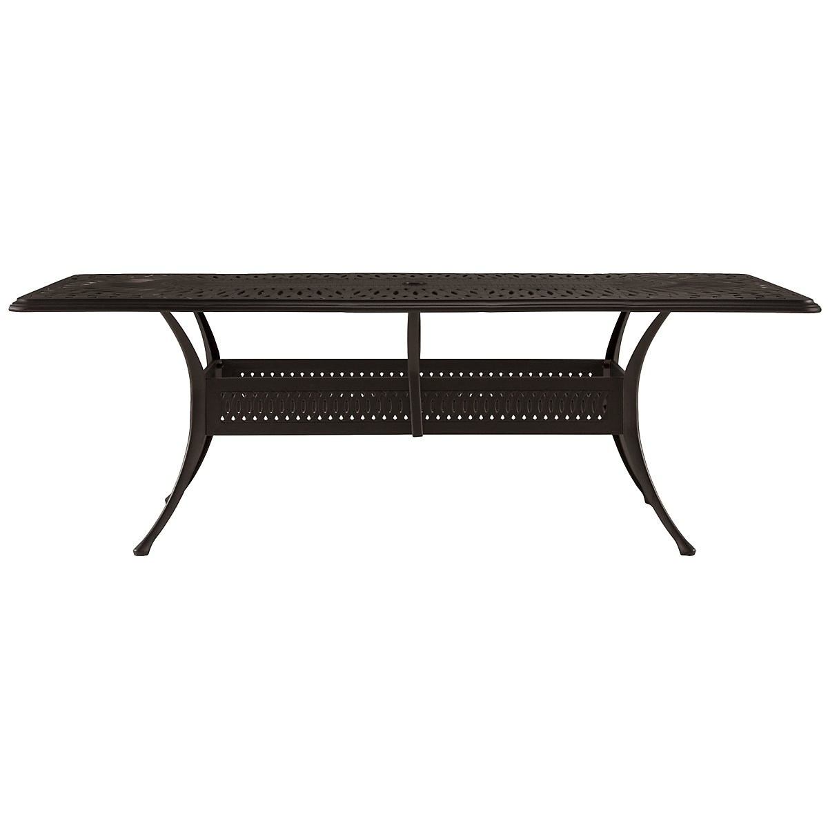 "Primera Dark Tone 87"" Rectangular Table"
