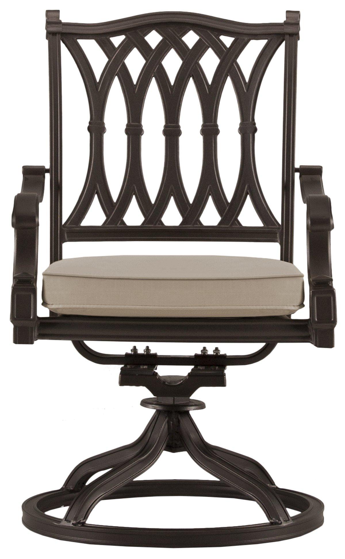 Primera Dark Tone Cushioned Chair