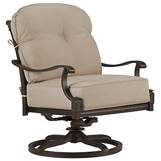 Primera Dark Tone Swivel Chair