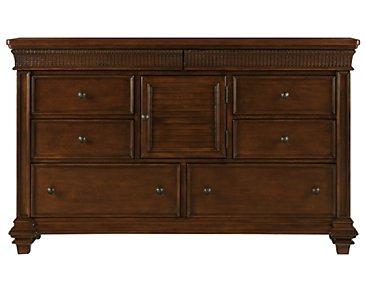 Antigua Mid Tone Dresser