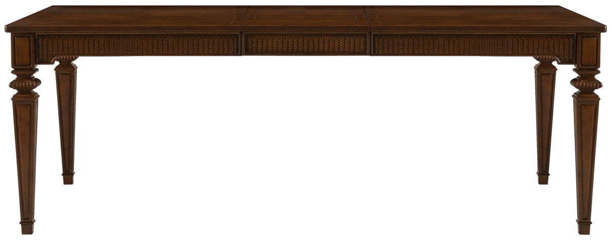 Antigua Mid Tone Wood Rectangular Table