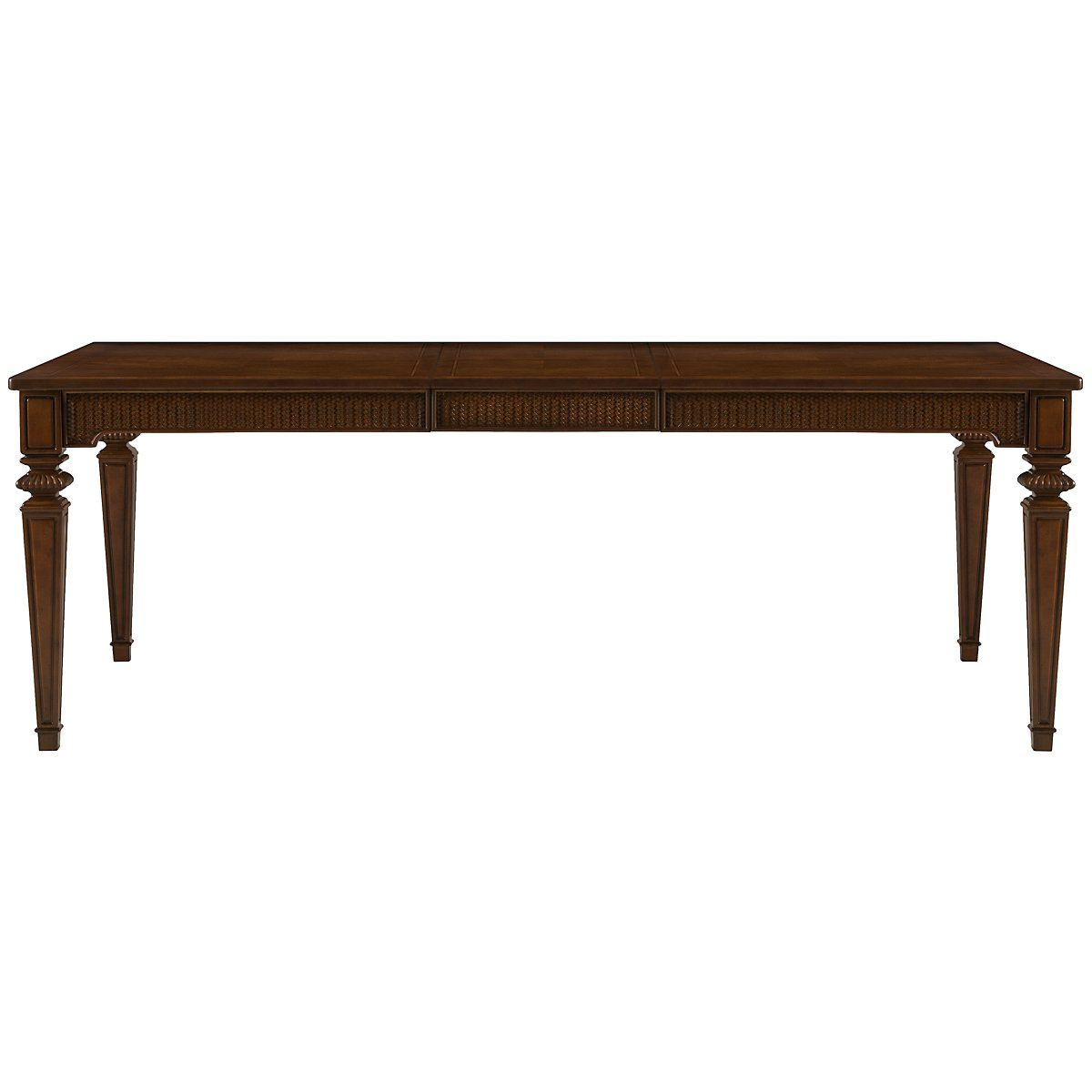 Antigua Mid Tone Rectangular Table