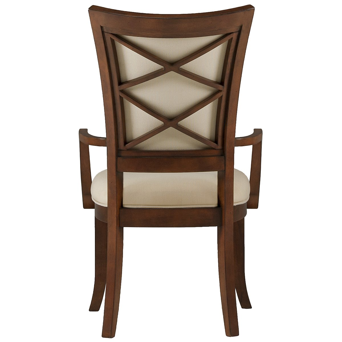 Antigua Mid Tone Upholstered Arm Chair