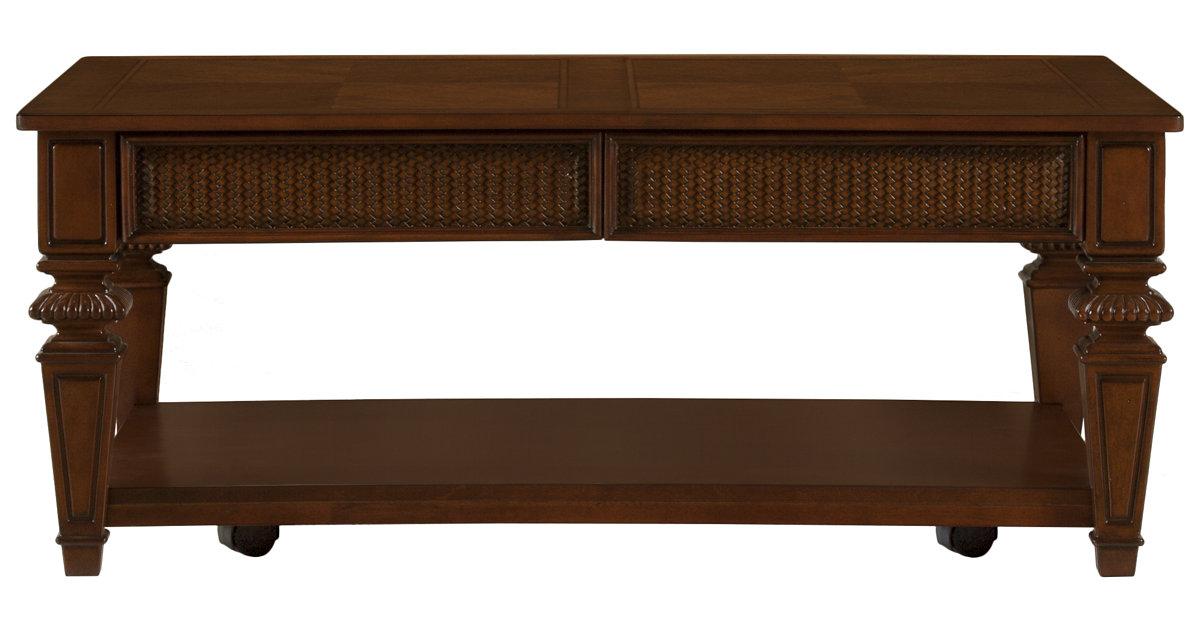 City Furniture Antigua Mid Tone Rectangular Coffee Table