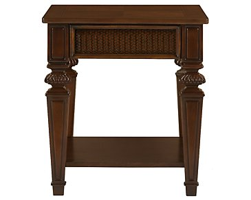 Antigua Mid Tone End Table