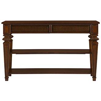 Antigua Mid Tone Sofa Table
