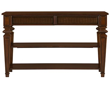 Antigua Mid Tone Sofa Table