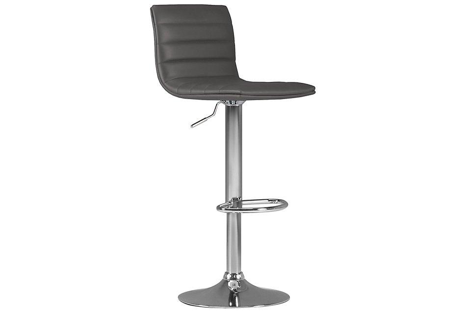 Stupendous Motivo Gray Uph Adjustable Stool Dining Room Barstools Theyellowbook Wood Chair Design Ideas Theyellowbookinfo