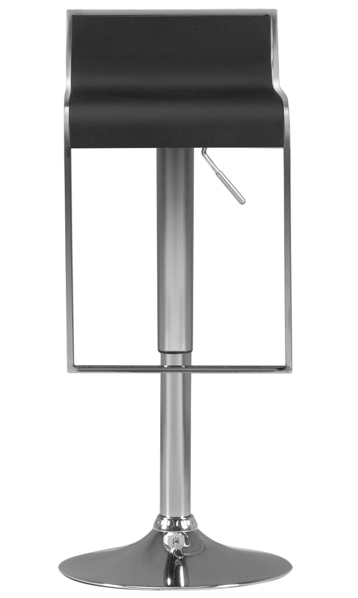 Oslo Black Adjustable Stool