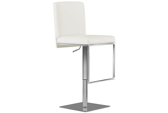 Astounding Motivo Gray Uph Adjustable Stool Dining Room Barstools Theyellowbook Wood Chair Design Ideas Theyellowbookinfo