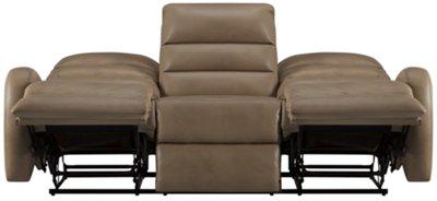 Carver Beige Microfiber Reclining Sofa  sc 1 st  City Furniture & City Furniture: Carver Beige Microfiber Reclining Sofa islam-shia.org