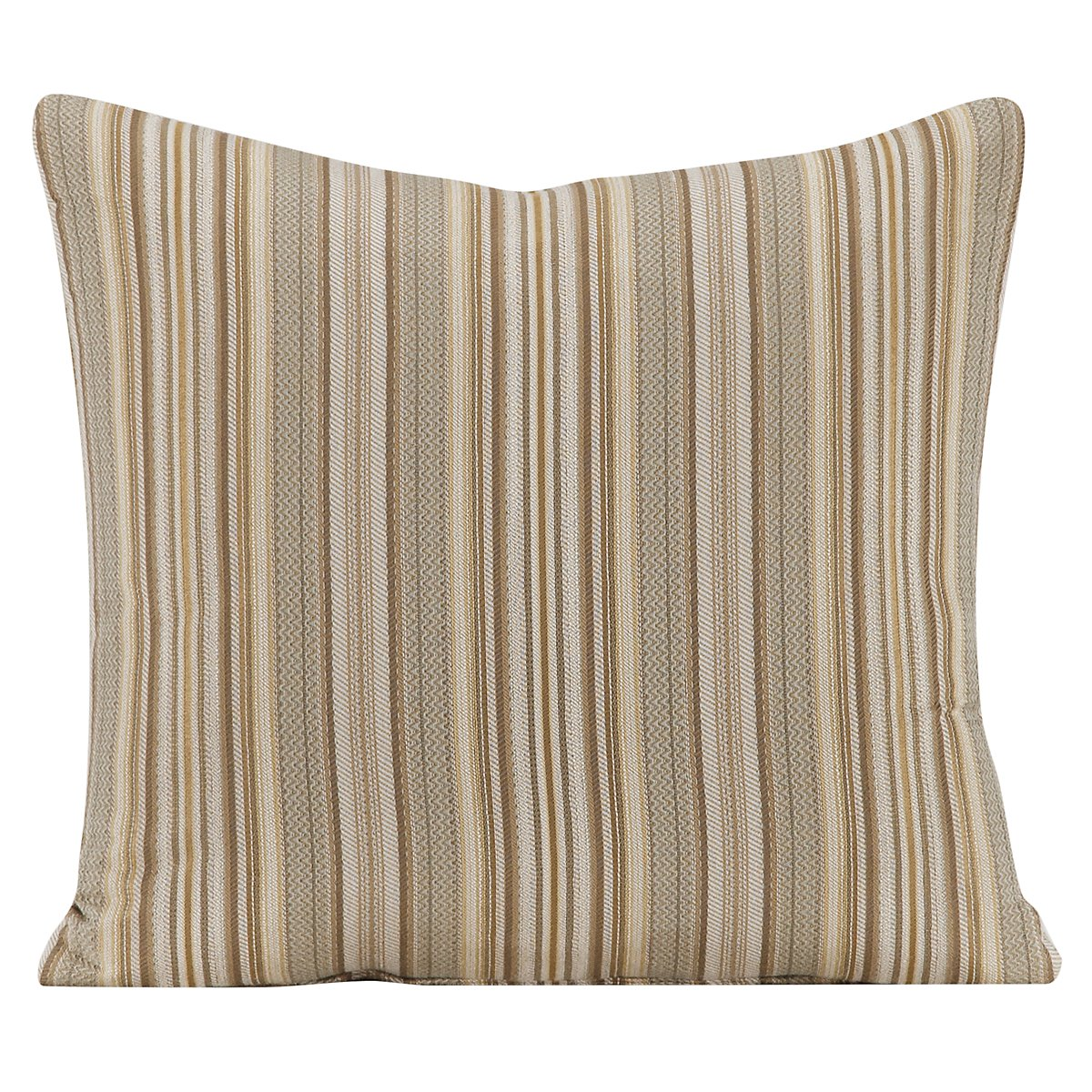 Erin Stripe Fabric Square Accent Pillow