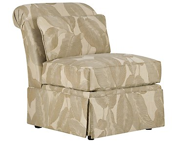 Erin Multicolored Fabric Accent Chair