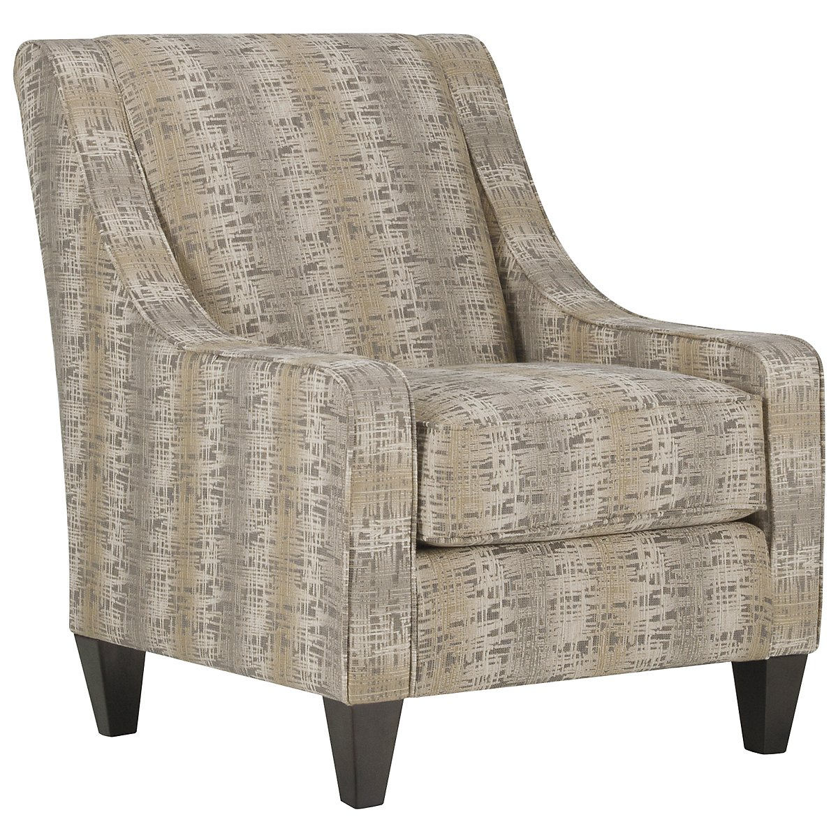 Ellis Multicolored Fabric Accent Chair