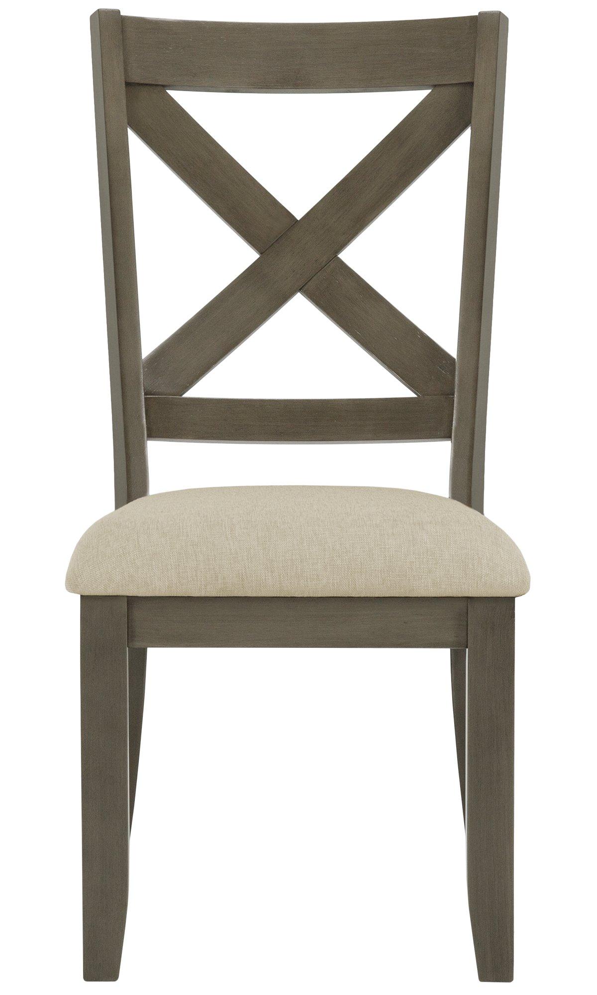Omaha Gray Wood Wood Side Chair
