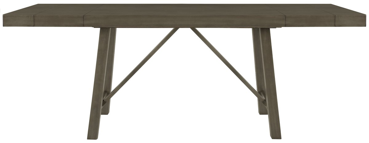 Omaha Gray Wood High Dining Table